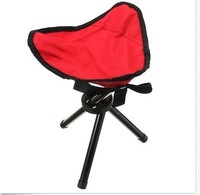 Outdoor Camping Tripod Folding Stool Chair Fishing Foldable Portable Fishing Mate Fold Chair