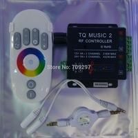 DC12V/24V 18A RGB Music Controller RF Remote Intelligent Sonic Sensitivity Led Backlight Remote 89968