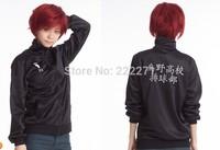 Haikyuu!! Karasuno High School Volleyball Club Cosplay Jacket Unisex Coat Costume Jersey Sportswear Free Shipping