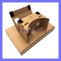 2014 DIY Google Cardboard for Mobile Phone Virtual Reality 3D Glasses
