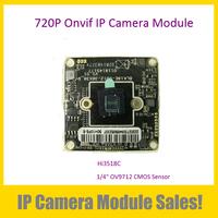 1.0MegaPixel CMOS ONVIF IP Camera Module IPG-50H10(38)PL-S,New OEM 720P IP Camera DIY Main Board (System: Hi3518C)