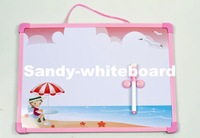 Free Shipping/Wholesale dry eraser board/magnetic white board 35*25cm christmas gifts