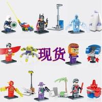 Wholesale 120pcs Super Heroes Avengers Flash Joker falcon Batman Robin Spiderman Action Figures Minifigures Building Blocks toys