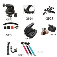 GoPro Accessories Set for Outdoor Travel Suitable GoPro Hero 3+/3/2/1