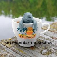 Wholesale 10pcs/lot Manatea Infuser / Mana tea Mana Tea Strainers Manatee (Mr. tea system)