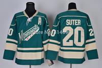 Free Shipping Cheap Minnesota Wild #20 Ryan Suter Authentic Stitched Ice Hockey Jersey Wholesale Mix Order