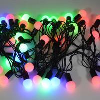 NEW Design EU Plug 220V RGB 40 LEDs 6M Colorful Christmas Light/Decoration LED String Lights Free Shipping
