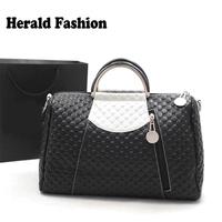 2014 Hot New Fashion Designers Famous Brand Handbags High Quality Leather Women Handbags Boston Bags Messenger Bag Shoulder Bag