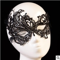 2014 New Fashion Masquerade Party Gift Sexy Black Lace Mask Z11T17