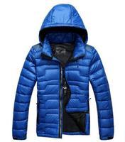 Thin models men short down jacket winter recreational sports brand jacket. Free Shipping