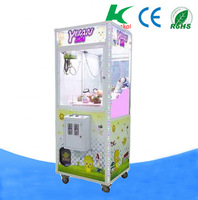 Factory wholesale toy crane machine prize claw crane game machine,coin-op toy crane game machine