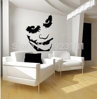 The Joker Batman Heath Ledger Graffiti Wall Art Stickers Decal DIY Home Decoration Wall Mural Removable Bedroom Stickers 72x58cm