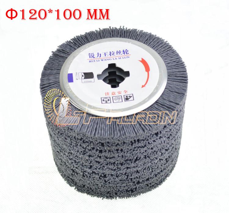 wire brush deburring machine