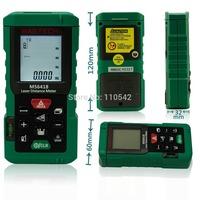 Free shippingMASTECH MS6418 New 80M Laser Distance Meter/Electronic Ruler/Laser Ruler/Laser Line Measuring Instru