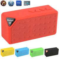 X3 MINI Speaker Bluetooth TF USB FM Jambox Style Wireless Portable Music Sound Box Loudspeakers Subwoofer with Mic 2014 New
