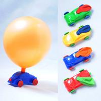 hot selling novelty Nostalgic classical dynamical toy balloons balloon car dynamic power slide car toys Strange new wholesale