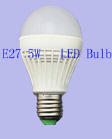 LED Bulb Lamp E27 SMD2835  5W AC220V Cold White LED Energy saving light