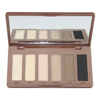 Hot Selling  6 Colors Eye Shadow Makeup Set Eyeshadow Palette gift 01 Free Shipping