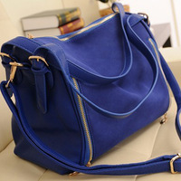 Women's handbag fashion scrub 2014 vintage color block women's shoulder bag cross-body bags
