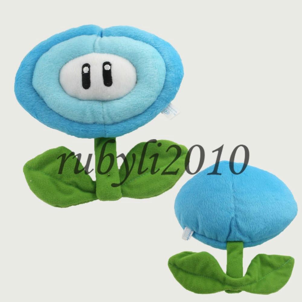ice flower 7'' SUPER MARIO BROS ANIME PLUSH DOLL TOY BABY CUTE SOFT ANIMAL CARTOON GIFT Stuffed Free Shipping(China (Mainland))