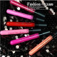 12 Colors Popular Women's Waterproof Beauty Makeup LipStick Velvet matte Colors Lip Pencil Lipstick Lip Gloss Lip Pen