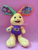 Baby Toy Talking Music Rabbit Toys Classic Animal Plush Doll For Children Gift 1Pcs/lot Free Shipping