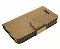 Hot Sale Wire Style Leather Wallet Stand Case Flip Cover For Apple iphone 4 4G 4S Free Shipping 10pcs/lot