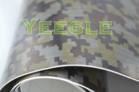 Car Sticker 1.52x30M 5x98FT Removable Self-adhesive digital camouflage foil Free Shipping