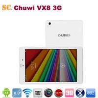 Original 8 inch Chuwi VX8 3G Tablet PC Intel Z3735G Quad Core 64Bit IPS OGS1280x800 Dual Cameras Phone Call Bluetooth GPS 1G 16G