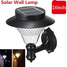 Outdoor Garden/ Yard/ Pathway Solar Wall Lamp Popular Solar lamps 3 x 1200mAh Ni-MH Battery Solar Lamps Decoration wall light(China (Mainland))