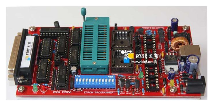 USB powered Advanced Willem EPROM Programmer PCB50 NEW!(China (Mainland))