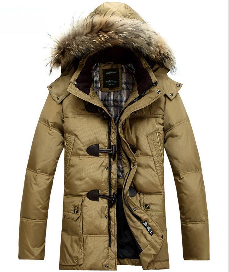 2014 basic hooded grey goose jacket