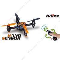 Free shipping!Drone UDI U830 2.4Ghz 4CH RC Quadcopter Aircraft Mini UFO W/ The Hand Gravity Sensor