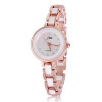 Wholesale Fashion Watch Partysu Watches Brand Bracelet Chain White Round Rhinestone Watches Free Shipping
