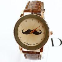 Watches Women Fashion Beard Wristwatches Leather Diamonds Ladies Luxury Brand Free Shipping
