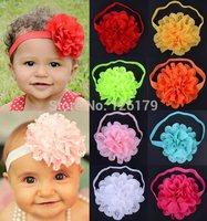 1PC Baby Girl's Flower Headband Headwear Girls Floral Topknot Hairbands Infant Kids Soft Headband Hair Accessories