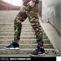 Camouflage style original Men's hip hop pants fashion sweatpants 2014 military jogger pants sports camo trousers, free shipping