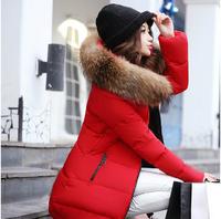 WWY51 2014 New Winter Coat Women Long Section Down Padded Jacket Slim Large Size Women Nagymaros Collar Thick Padded Jacket