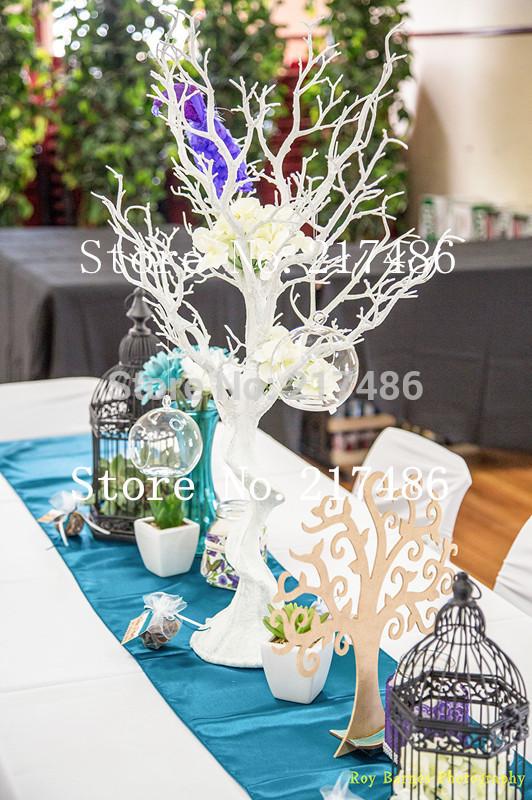 wedding table white tree centerpiece for wedding decoration(China (Mainland))