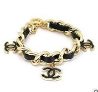 2014 New Design Famous Brand Metal And Resin Bracelets & Bangles Luxury Kors Letter Bracelets For Women Unisex Best Selling Gift