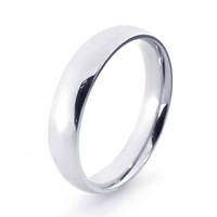 21270 glossy stainless steel ring titanium ring men's personality punk fashion ring