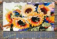 Handmade Art tapestry Mural wall painting 100*120CM / 80*140CM