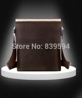 Hollow Men Leather Messenger Bag shoulder bag business casual men's leather bag