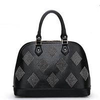 Women messenger bags leather handbags totes Shell Rivet Candy Color Lady Shoulder messenger bags PL329#69