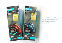 Top selling RAPOO enhanced version of M120 gaming mouse wired mouse office laptop USB mouse, free shipping