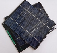 Hot Sale 2W 6V Solar Cells Small Solar Panels DIY Solar Module For 3.7-4.2V Battery Charger Green Power 136*110mm Free Shipping