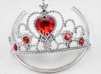 Factory price Frozen Crown for Girl Hairbands Kids Frozen Tiara  Baby Costume Frozen Dress Accessories 100pcs/lot