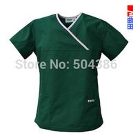 Matin medical scrub set for ladies dark green