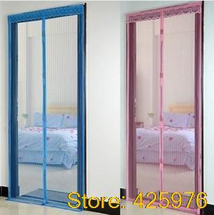210*90cm cortinas sala pura parágrafo magnética mosquito tela cortina de porta quarto parágrafo para sala cozinha persiana blackout(China (Mainland))