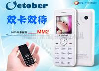Genuine melrose Terminator MM2 F10 F100 B20 mini candy bar Dual SIM mobile phone for children low radiation pocket Drop Shipping